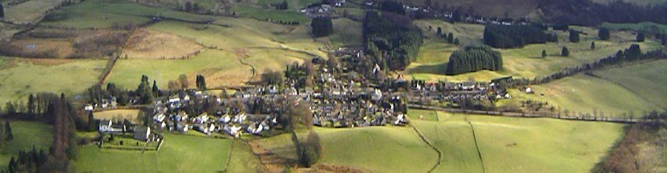 Muckhart Village from Seamab